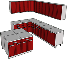 sketchup kitchen cabinet maribo intelligentsolutions co