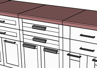 Custom handles types  sc 1 st  Oob plugin for SketchUp & Oob cabinets plugin for SketchUp