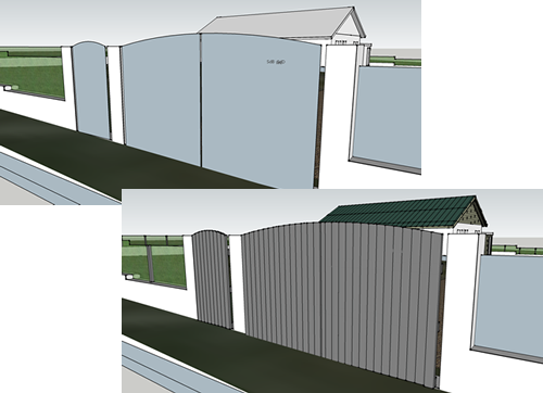 SketchUp Layout Example